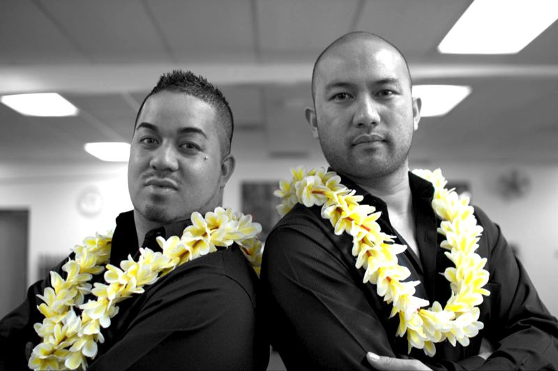 by: CONTRIBUTED PHOTO: KA PA HULA MAKANI KOLONAHE - Ka'aumoana Ahina Jr. and 'Aukai La'amaikahiki are the founders of Ka Pa Hula Makani Kolonahe, a Gresham-based hula school that opened its new studio at Southeast Division Street and 180th Avenue in Gresham on June 1.