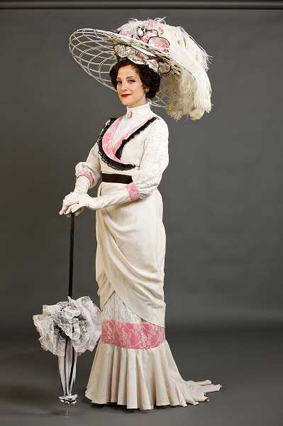 by: SUBMITTED PHOTO: CRAIG MITCHELLDYER - Jazmin Gorsline portrays Eliza Doolittle in 'My Fair Lady.'