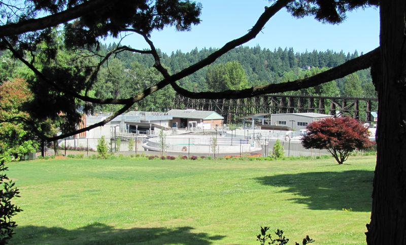 by: PHOTO COURTESY: OLSD - Pictured is the Oak Lodge Sanitary District's new facility at 13750 S.E. Renton Ave.