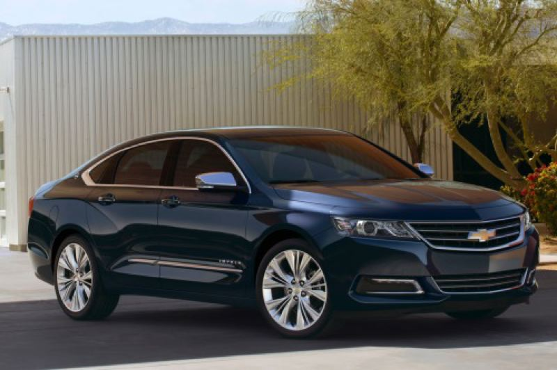 by: GENERAL MOTORS CORPORATION - The redesigned 2014 Chevy Impala is once again a show stopper.