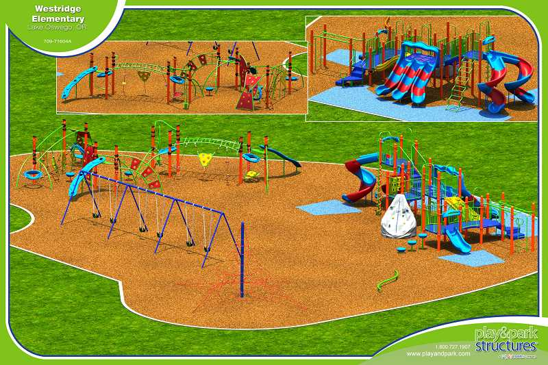 by: SUBMITTED GRAPHIC - Westridge Elementary School parents have a clear concept for the new playground.