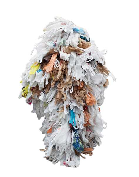 by: JAIME VALDEZ - On average, Americans use 500 plastic bags each year. Activists say suits like this bag monster help demonstrate the amount of damage each Oregonian contributes every year.
