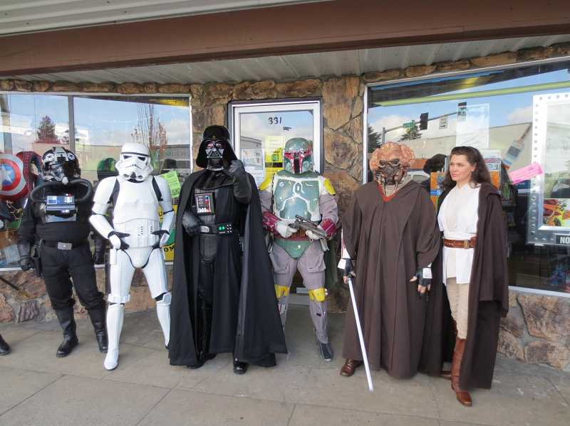 by: SUBMITTED - Oregon's Cloud City Garrison will be on hand in downtown Tigard next weekend for the second annual Explore Downtown Tigard Street Fair