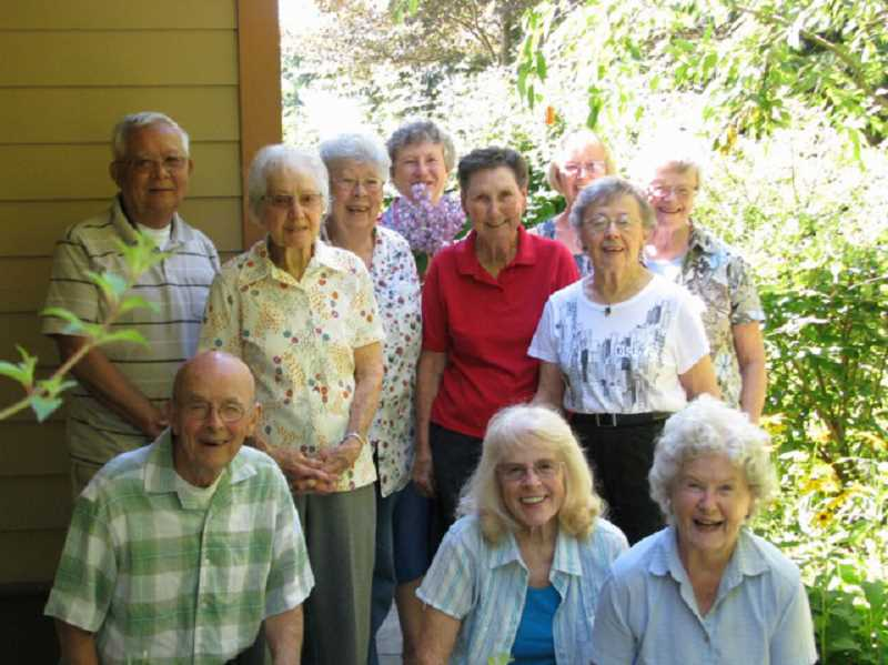 by: SUBMITTED PHOTO - The West Linn Adult Community Centers gardening group members share successes and failures on Wednesdays at 11 a.m.