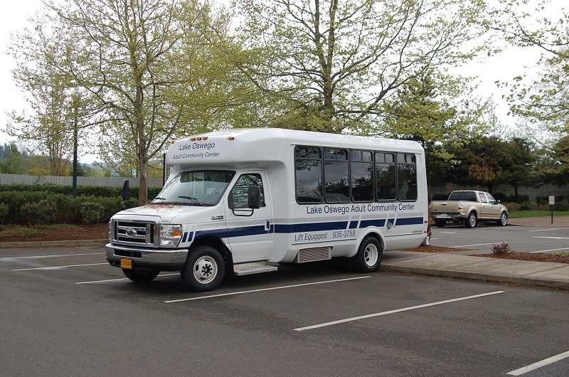 by: SUBMITTED PHOTO   - Want to drive this van? You can if you volunteer to be a driver for the Lake Oswego Adult Community Center. Find out more.