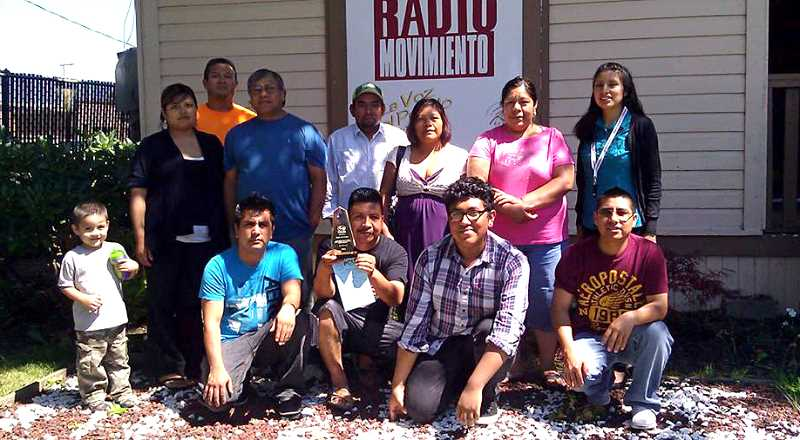 by: SUBMITTED - Volunteers and staff members of Radio Movimiento will celebrate the station's seventh anniversary Aug. 24.
