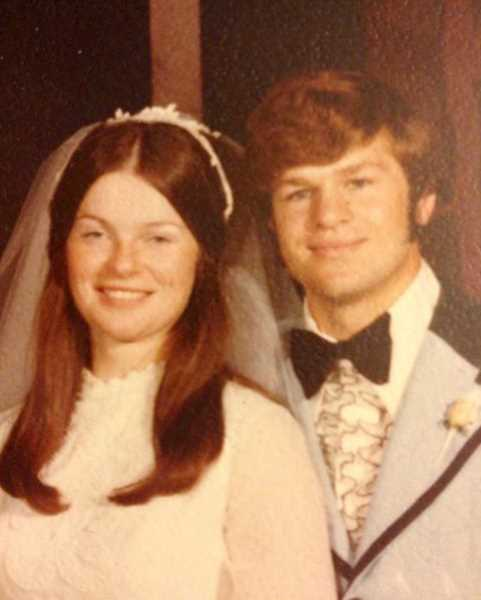 by: SUBMITTED - This picture was taken Aug. 4, 1973, the day that Don and Nann Fleck, of Mount Angel, were married.