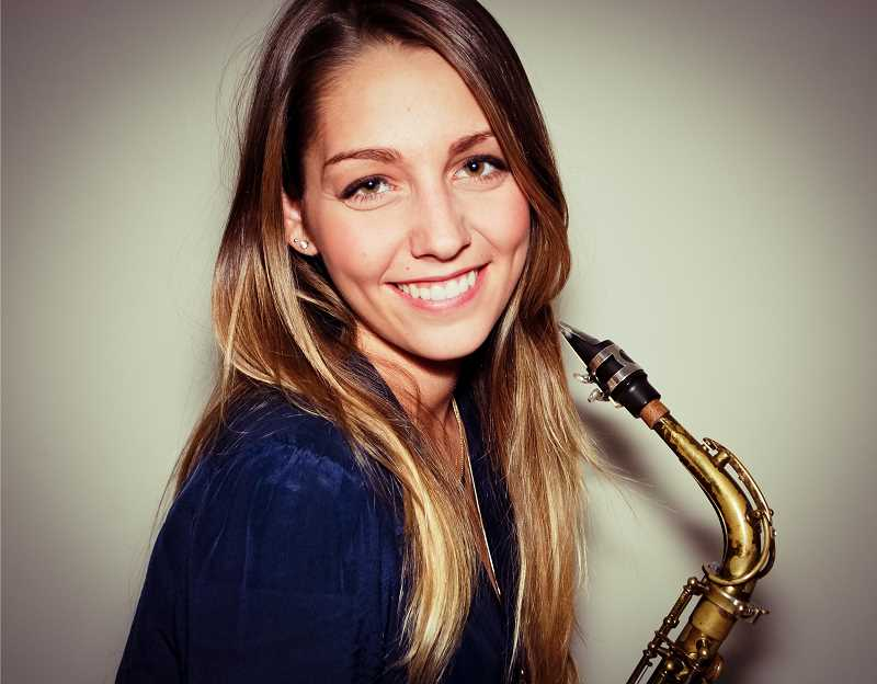 by: SUBMITTED - Hailey Niswanger is a professional alto/soprano saxophonist and a West Linn High School graduate.