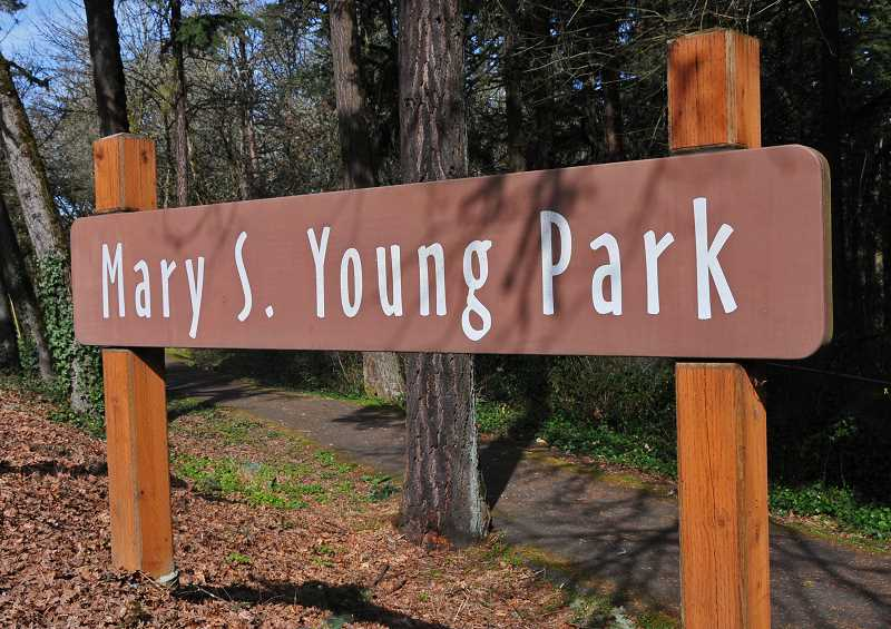 by: VERN UYETAKE - By the end of the year, residents should have a new access point to Mary S. Young State Park thanks to an easement from Clackamas County.