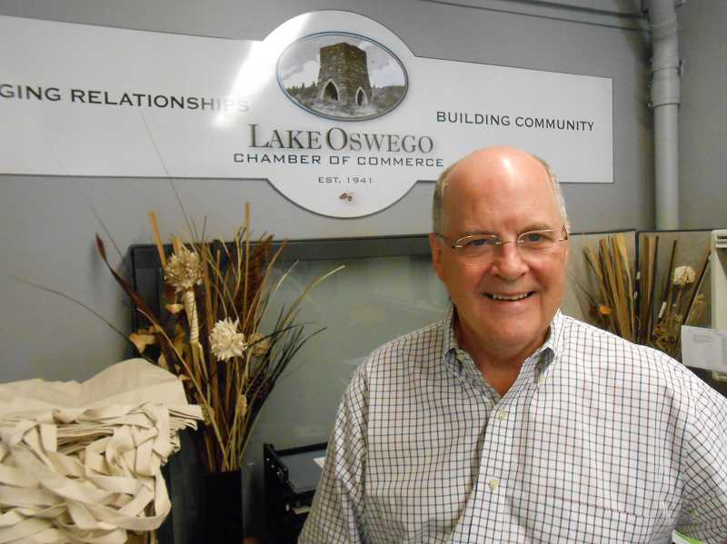 by: CLIFF NEWELL - Doug Cushing will be seeking to welcome a lot of new businesses to Lake Oswego in the coming year.