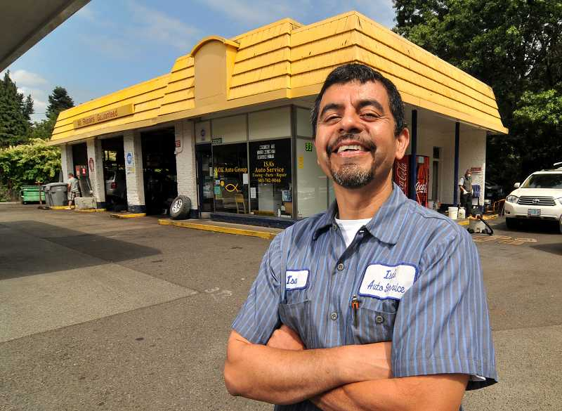 Photo Credit: TIDINGS PHOTO: VERN UYETAKE - Isa Flores is sad to leave West Linn, where he has worked for more than 20 years, but he remains positive about the future.