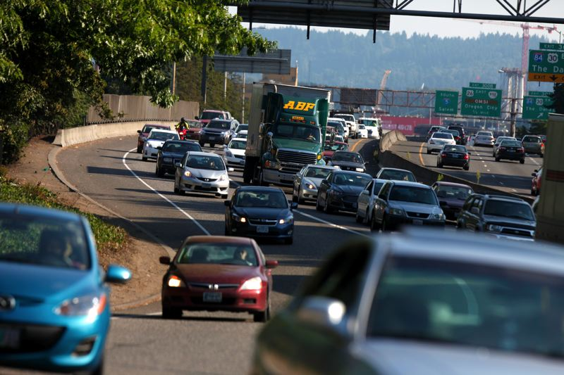 by: TRIBUNE PHOTO: JONATHAN HOUSE - Congestion is growing throughout the region as state freeway projects compete for funding.