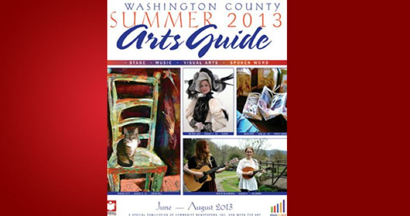(Image is Clickable Link) by: PAMPLIN MEDIA GROUP - Washington County Summer Arts Guide 2013