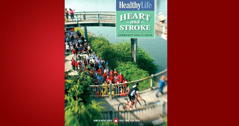 (Image is Clickable Link) by: PAMPLIN MEDIA GROUP - Healthy Life - Heart and Stroke