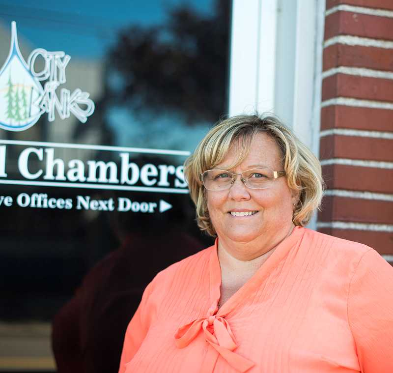 by: NEWS-TIMES PHOTO: CHASE ALLGOOD - After eight years with the city of Banks, Jolynn Becker will officially be the city manager when the council approves a new contract.