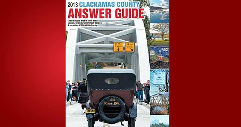 (Image is Clickable Link) by: PAMPLIN MEDIA GROUP - Clackamas County Answer Guide 2013