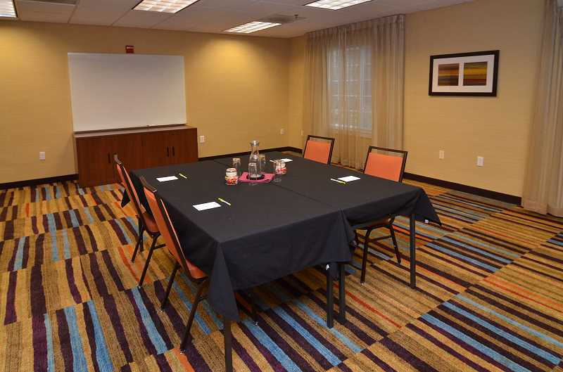 The meeting rooms at the Fairfield provide comfortable space for large or small groups.