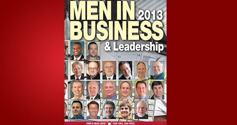 (Image is Clickable Link) by: PAMPLIN MEDIA GROUP - Men in Business & Leadership 2013