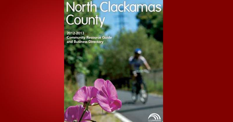 (Image is Clickable Link) by: PAMPLIN MEDIA GROUP - North Clackamas County Community Resource Guide & Business Directory