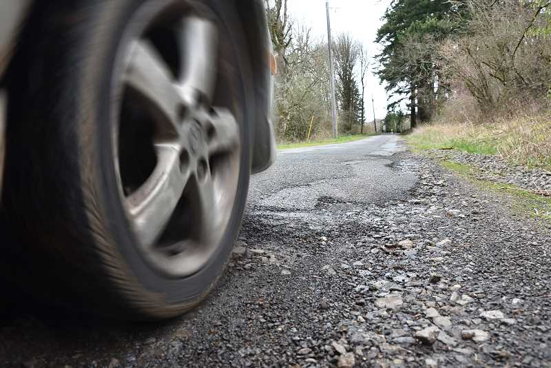 by: VERN UYETAKE - Lat year, Bland Circle, between Fircrest Drive and Weatherhill Road was rated as one of the worst streets in West Linn.