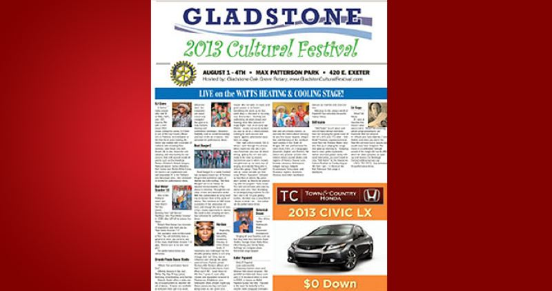 (Image is Clickable Link) by: PAMPLIN MEDIA GROUP - Gladstone Cultural Festival 2013