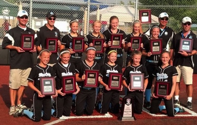 by: COURTESY PHOTO: HOLLY DAY - The Rip City Rage took second at 2013 ASA Western National Tournament in Medford after winning the 2013 Oregon State Championship.