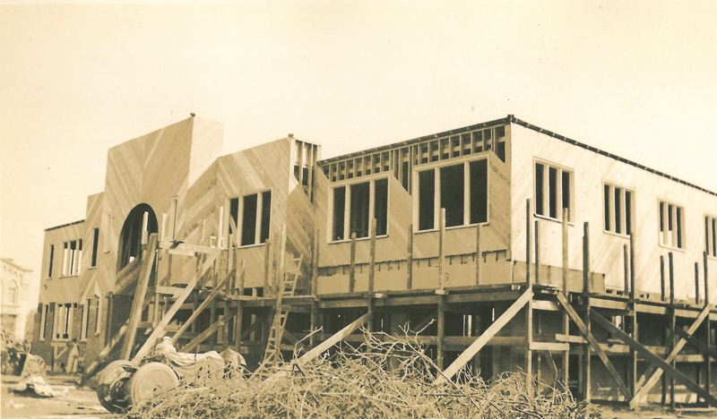 by: FILE PHOTO - Milwaukie City Hall in a historic photograph from its 1938 construction.