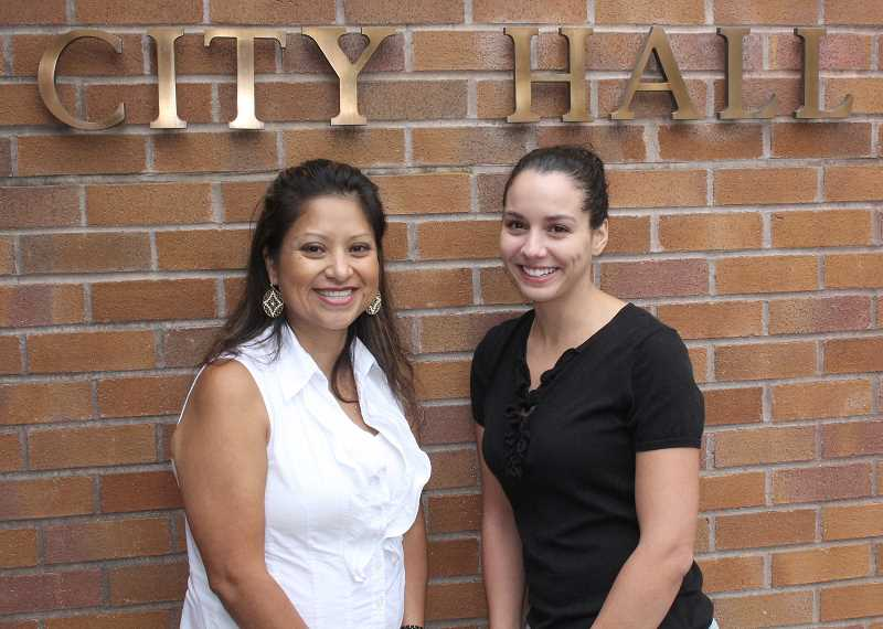 by: JEFF MCDONALD - Marta Trinidad and Robyn Stowers are not new to the city of Woodburn, but theyve taken on new roles at City Hall: Trinidad is in charge of RSVP and community outreach while Stowers is now urban renewal manager.