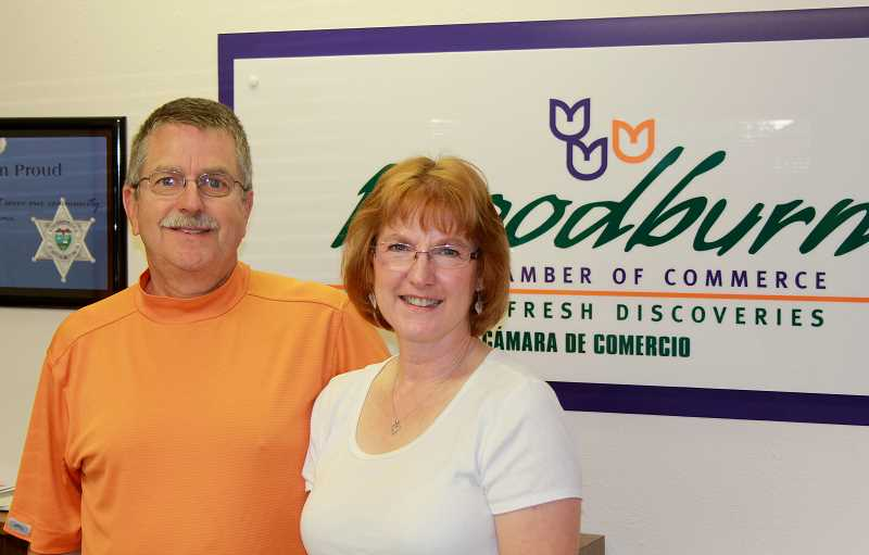 by: JEFF MCDONALD  - Don and Rhonda Judson announced plans to step down from the Woodburn Area Chamber of Commerce at the end of the year.