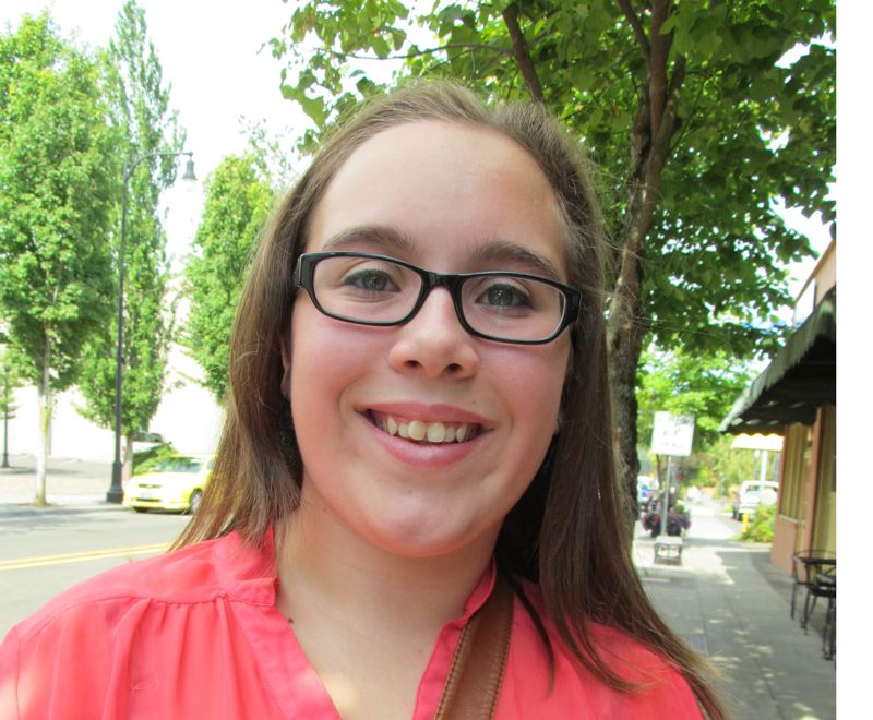by: PHOTO BY ELLEN SPITALERI - Danielle Bolton, 14, will celebrate her 15th birthday a day early by taking part in the Portland Walk to Cure Psoriasis on Sunday, Sept. 22
