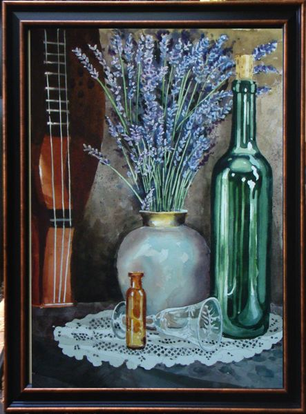 by: CONTRIBUTED PHOTO: VERNON GROFF - This painting, Lavender and Old Lace by Vernon Groff, is one of at least a dozen art pieces that will be displayed beginning Thursday, Sept. 12, at Sandy Actors Theater, 39181 Pioneer Blvd.