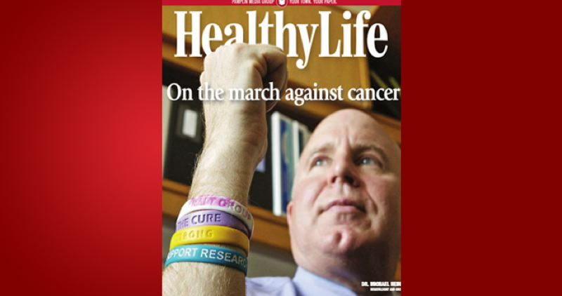 (Image is Clickable Link) by: PAMPLIN MEDIA GROUP - HealthyLife - March against Cancer 2013