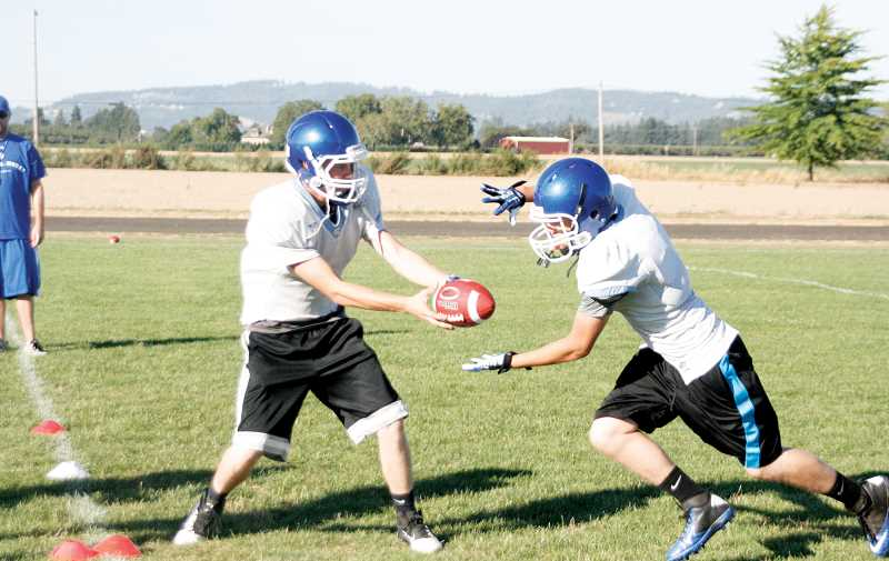 by: PHIL HAWKINS - Much as in previous years, the St. Paul Buckaroos will build their offense around a power running game and play action passes.