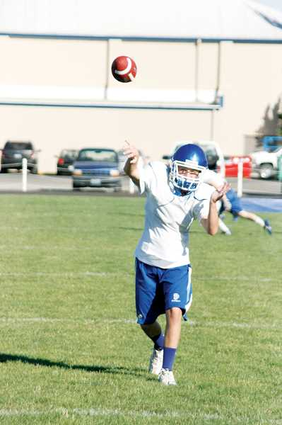 by: PHIL HAWKINS - Although St. Paul is a team that is built around running the football, the Bucks are not afraid to air it out to catch opposing defenses off guard.