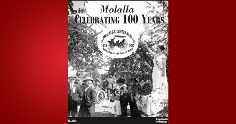 (Image is Clickable Link) by: PAMPLIN MEDIA GROUP - City of Molalla Centennial