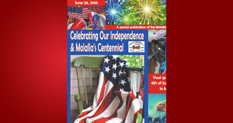(Image is Clickable Link) by: PAMPLIN MEDIA GROUP - Molalla Independence day