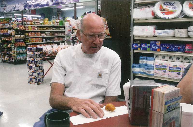 by: RUSS BAGLIEN - Jim Lind has owned Gervais Food Market, located at 412 Fourth St. in Gervais, along with his brother, Dick, for 25 years. The brothers plan on retiring soon, but Jim's son Bob is their only chance of keeping the business in the family.