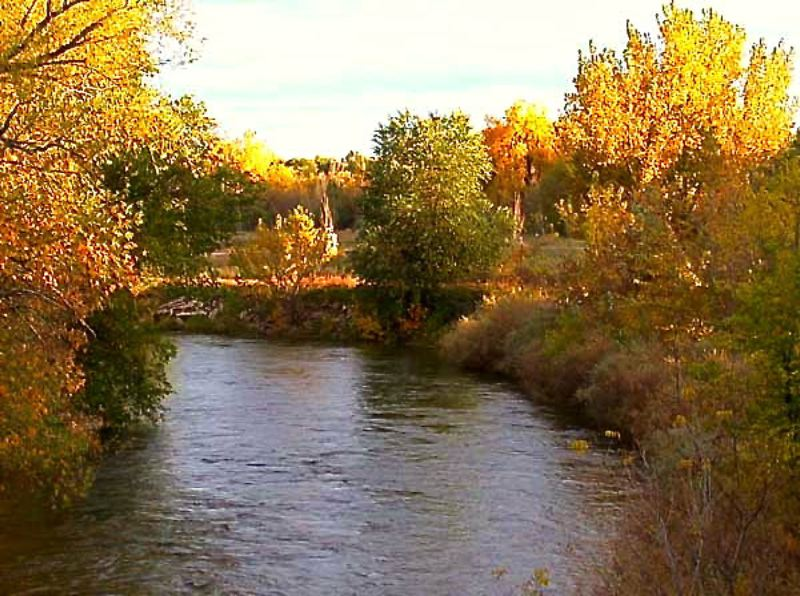 by: CONTRIBUTED PHOTO:  - The gently flowing Cache La Poudre River, lined with beautiful fall aspen foliage near Fort Collins, Colo., is where a young Jim Slagle first gained his love for the outdoors and a thirst to follow a trail he finds or design and build one if it doesnt exist.