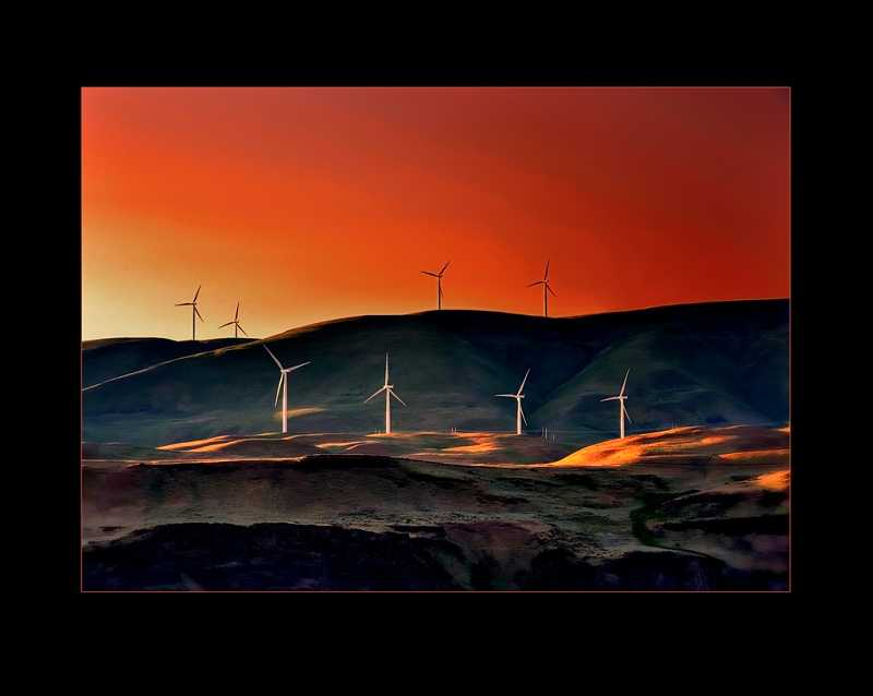 by: SUBMITTED PHOTO - Michael Anderson's Wind Power was selected for the prestigious Loan Collection at the Professional Photographers of Americas 2013 International Competition.
