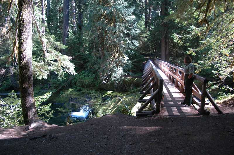 by:  ISABEL GAUTSCHI - There's plenty to see on the gentle mile-and-a-half hike to Bagby Hot Springs.