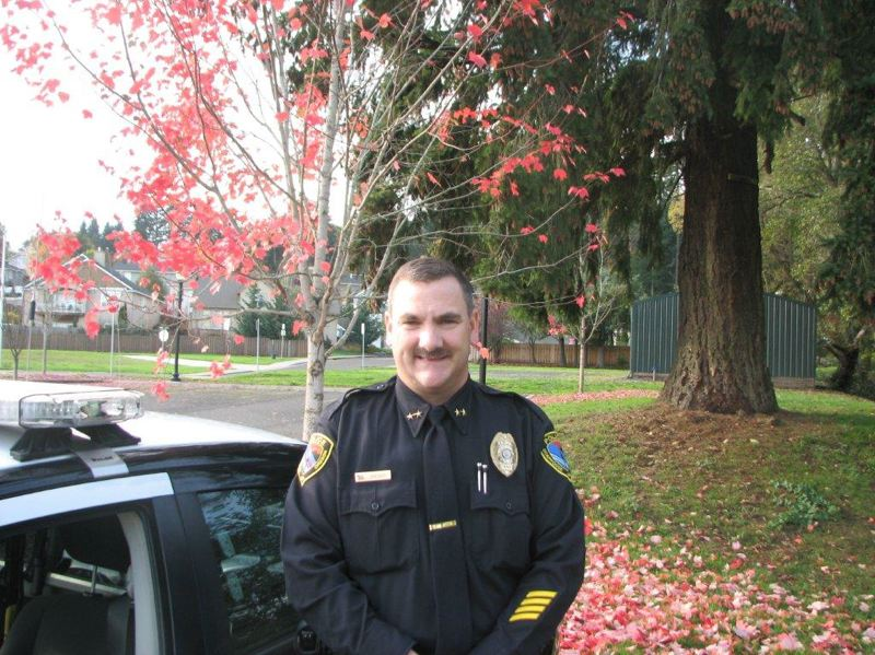 (Image is Clickable Link) by: SUBMITTED PHOTO - Scappoose Police chief Douglas Greisen is back on paid leave pending further investigation.