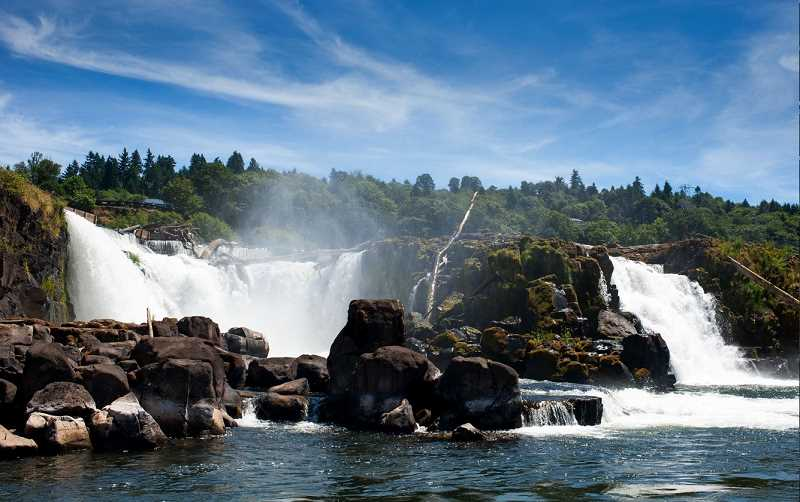by: SUBMITTED FILE PHOTO - The Willamette Falls area is at the center of a proposed 26-square-mile national heritage district.