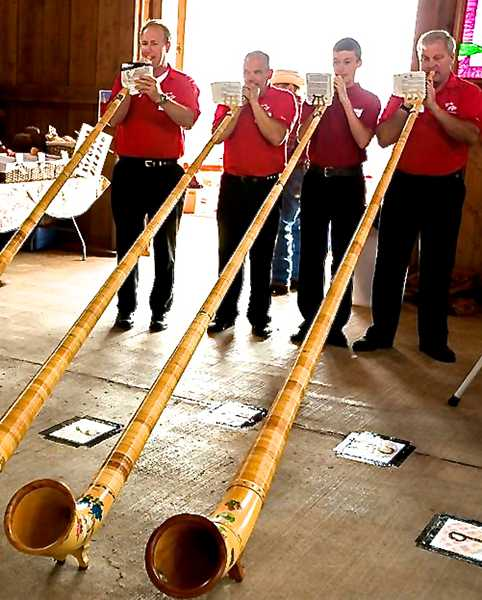 The Helvetia Culture Fest will feature alphorns and music.