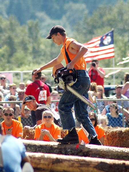 by: ISABEL GAUTSCHI - Event organizers estimate that the 2013 Fourth of July celebration and Timber Festival drew 15,000 people to the Estacada area.