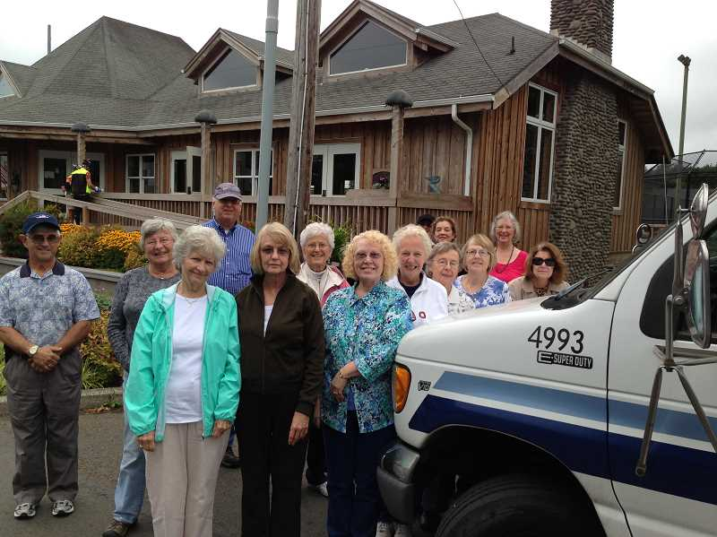 by: SUBMITTED PHOTO - Members of the West Linn Adult Community Center recently took the centers bus on a road trip to Cannon Beach. Dont miss out on the fun. Sign up to go on the next road trip.