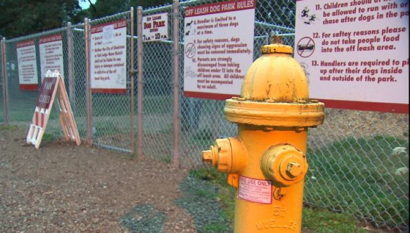 by: KOIN 6 NEWS - Ken Fielding's home is just 17 feet away from the chain link fence that designates this Gladstone dog park. And he wants a buffer.