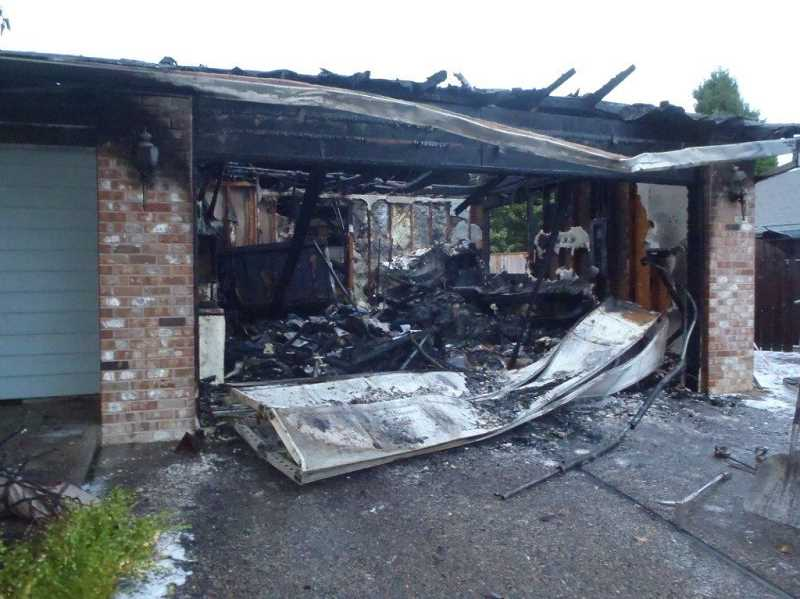 by: TVF&R - Thanks to working smoke detectors, a Wilsonville family escaped an early morning house fire Sunday.