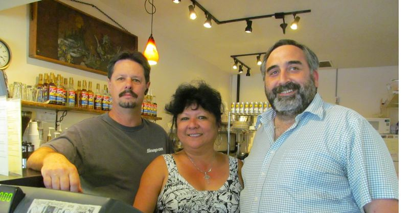 by: PHOTO BY ELLEN SPITALERI - Pictured from left are BIKE board members John Sciarra and Reynette Reuter and founder Ed Bejarana. The three are hoping to attract teen entrepreneurs to a series of classes.