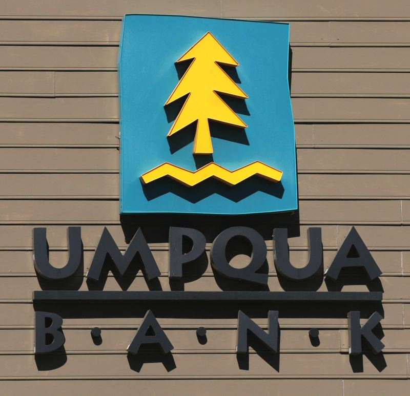 by: OUTLOOK PHOTO: JIM CLARK - Umpqua Bank operates a location on Northwest Norman Avenue in Gresham Station. Sterling Bank, on Northeast 181st Avenue, will become part of Umpqua Bank when a merger is finalized early next year.