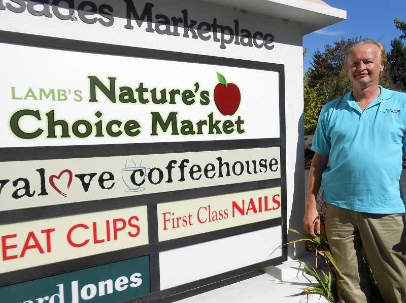 by: CLIFF NEWELL - The market on McVey Avenue is no longer Lamb's Thriftway, and Nick Goldschmidt has initiated many more changes than just the name.